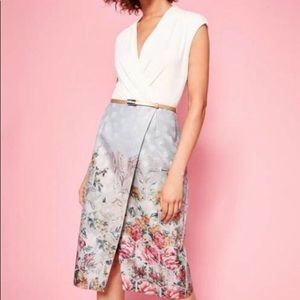 Beautiful Ted Baker Dress - Size 3/US 8. Brand New